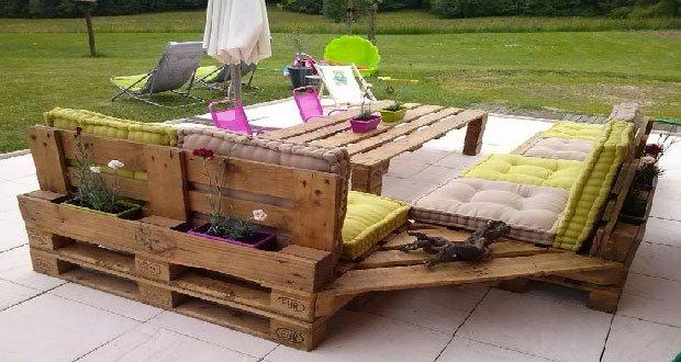 DIY : comment fabriquer un salon jardin en palettes ? – Decor-A